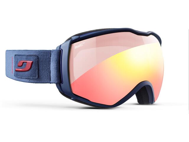 Julbo Aerospace Zebra Light Red Goggles Dark Blue/Red